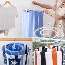 Hanger Drying Rack Spiral Hanger Rotating Quilt Storage Rack Drying Blan_ns