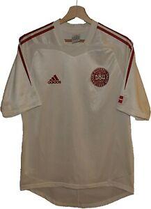 2004 DENMARK Football SHIRT Jersey ADIDAS size S Tricot Maglia Camiseta