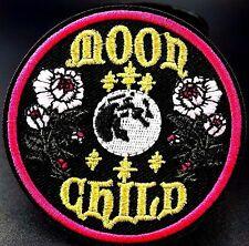 Space Hippy Patch Love Peace Alien Sci-Fi  Astronaut Iron Sew On Motif UFO