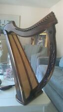 HARP - A - Biblical 22 string Harrari custom carvings ,A miracle happened