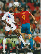 William GALLAS SIGNED Autograph COA Photo AFTAL France World Cup WINNER Genuine