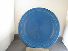 "Fiesta Dinner Plate 10 1/2"" in Lapis Homer Laughlin Fiesta"