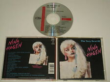 NINA HAGEN/THE MUY BEST OF NINA HAGEN(CBS 467339-2) CD ÁLBUM