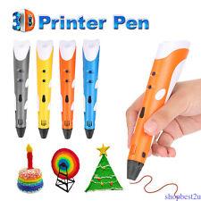 Impression 3D dessin Pen artisanat modélisation ABS Arts imprimante outil cadeau