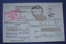 KRIEGSGEFANGENENPOST P.O.W. POSTA PRIGIONIERI GUERRA STALAG VIII.C 1944 (SAGAN)