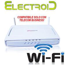 ROUTER MODEM TELECOM ITALIA ADSL 2+ Wi-Fi N CON ANTENNE COMPATIBILE BUSINESS