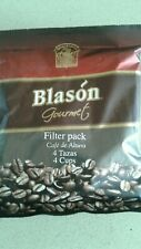 Blason Gourmet Filter Pack Coffee Bags makes 4 cups