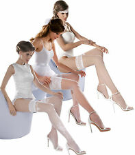 Wedding Bridal Collection by Gabriella Hold Ups Stockings Ladies Lingerie New