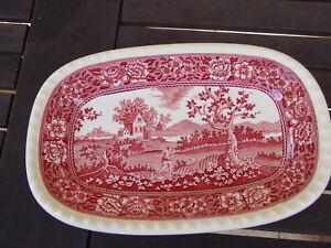 Villeroy & Boch, Rusticana rot, Speiseplatte 26 x 17  cm