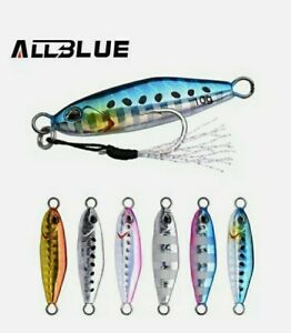 Artificiale Spinning Metal Jig Allblue 10 Gr - Drager Micro