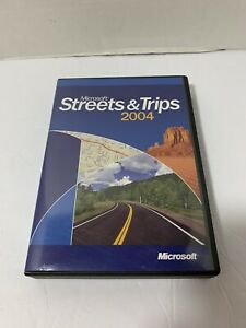 2004 Microsoft Streets and Trips Software 2 CD Set COMPLETE