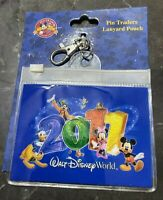 Walt Disney World Parks Pin Traders Lanyard Pouch 2011