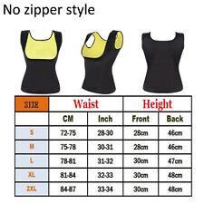 Womens Body Shaper Slimming Waist Trainer Cincher Underbust Corset Shapewear ZIP