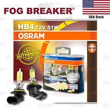 OSRAM FOG BREAKER Headlight Bulbs Duo Lamp 2600K YELLOW HB4 12V 51W for LOW BEAM