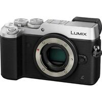 Panasonic Lumix DMC-GX8 Body 4K UHD 20.3MP Silver Digital Camera DMC-GX8GN-S