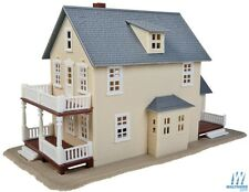 Walthers #931-901 Trainline Two Story House Building Kit HO Scale Post