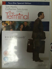 Tom Hanks Catherine Zeta Jones TERMINALE 2004 Steven Spielberg 2-disco UK DVD