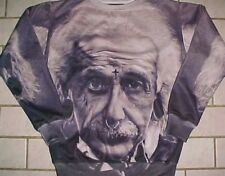 Albert Einstein Theoretical Physicist 1991 Inc Adult Unisex Fleece Sweatshirt  M