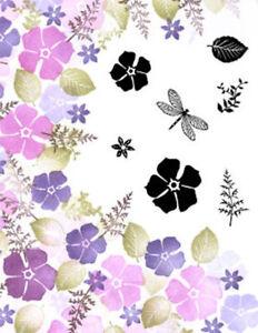 Card-io Spring Garden Majestix Clear Peg Stamps CDMASP-02