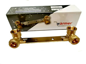 Concealed Shower Fitting Wall Plate ThermostaticTap Mixer Bar Valve Bracket