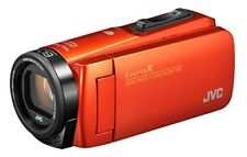 JVC Video Camera Everio R Waterproof Dustproof Wi-Fi Blood Orange GZ-RX680-D