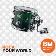 Natal Bubinga Drum Kit Blue Green Fade (12 Tom, 16 Floor, 22x20 Bass, 14 Snare)