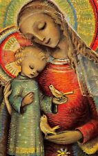 """Fleißbildchen Heiligenbild Gebetbild """" Hummel """" Holy card Ars sacra"""" H645"""""""
