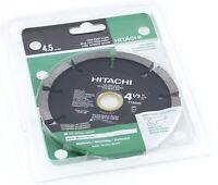 """Hitachi 728738 4-1/2"""" Tuck Point Diamond Saw Blades for Concrete/Masonry"""