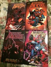 New Avengers Hard Covers 1, 2, 3, 4 Luke Cage + Wolverine Incredible Story!