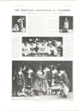 1905 Bill Bailey, Pantomime Burlesque, Lady De Ramsey Pekin Japanese Dogs