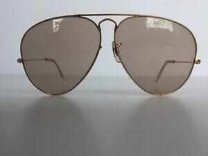 Genuine Rare VINTAGE Teardrop Rayban Sunglasses B & L Bausch & Lomb Aviator