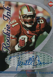 1998 Collectors Edge Terrell Owens Rookie Ink Autograph
