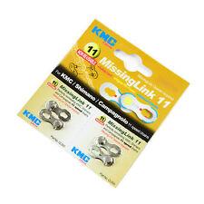 KMC CL555 11 Veces Eslabón Perdido Cadenas para Shimano & Campagnolo - Plata