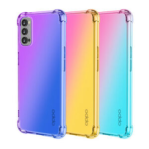 Case For OPPO Reno4 Pro 5G A54 A15 A53 A72 Shockproof TPU Hybrid Silicone Cover