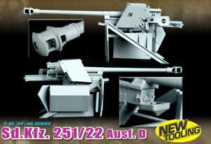 Dragon D6248 251/22 D W/PAK 40 7,5 cm SD KFZ KIT