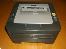 HL-2240 Brother Laser Printer - 17K Print Count - Power & Print Tested