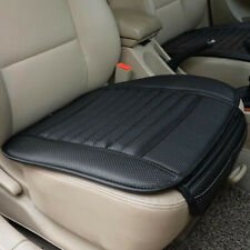 Black PU Car Full Surround Seat Cover Bamboo Charcoal Breathable Cushion Mat