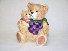 Cookie Jar Vintage CKAO Mother Bear Cub Ceramic