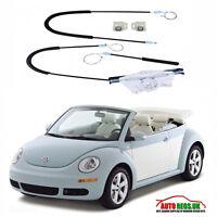 Volkswagen Beetle Cabriolet Convertible Rear Right Window Regulator Repair Kit