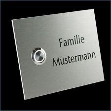 Klingelplatte Klingeltaster Klingel Türklingel Kontaktplatte Edelstahl 29.001.F