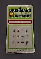 Bachmann 7001 N Scale Standing Farm Figures - Pack #1 (Set of 12)