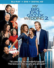 My Big Fat Greek Wedding 2 (Blu-ray/DVD, 2016, Digital Copy, Widescreen) *N