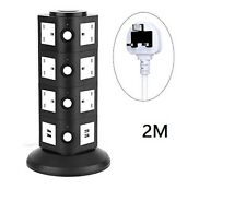 4 Layers  USB Port Tower Power Strip Surge Protector Socket Extension Lead- 2m