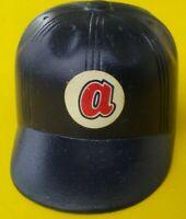 1970 Atlanta BRAVES Vintage mini Cap hat gumball machine Baseball bat helmet old