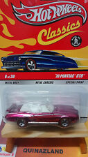 Hot Wheels Classics '70 Pontiac GTO rose (9937)