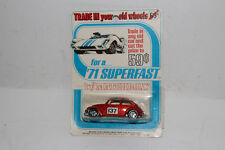 MATCHBOX SUPERFAST #15 VOLKSWAGEN VW BEETLE BUG 1500 SALOON, RARE BLISTERPACK