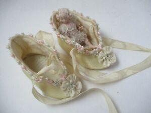 Susan Snodgrass & Stephanie Blythe Fairy Doll  Baby in Silk Baby Shoes
