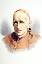 VICTORIAN AREA - PORTRAIT of CARDINAL MANNING - Engraving from 19th c