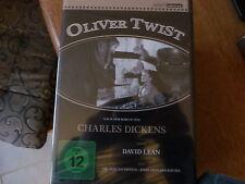 Oliver twist- David Lean- Alec Guinness- Charles Dickens DVD Neu