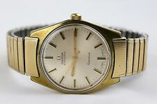 Vintage Omega Geneve Automatic Cal.552 Gold Plated Mens Watch